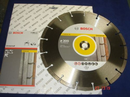 "2 x Bosch 300mm 12"" Diamond Cutting Brick Block Concrete Disc Blade DeWalt Makita"